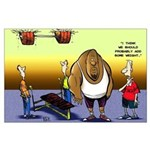 Low Bench Opener Large Poster