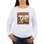 Goldilocks & The 3 Bears Women's Long Sleeve T-Shi