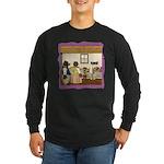 Goldilocks & The 3 Bears Long Sleeve Dark T-Shirt