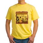 Goldilocks & The 3 Bears Yellow T-Shirt