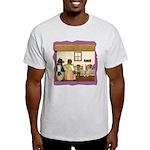Goldilocks & The 3 Bears Light T-Shirt