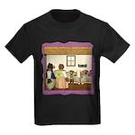 Goldilocks & The 3 Bears Kids Dark T-Shirt