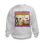 Goldilocks & The 3 Bears Kids Sweatshirt