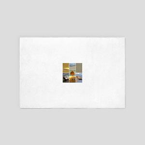 Beach Collage 4' x 6' Rug