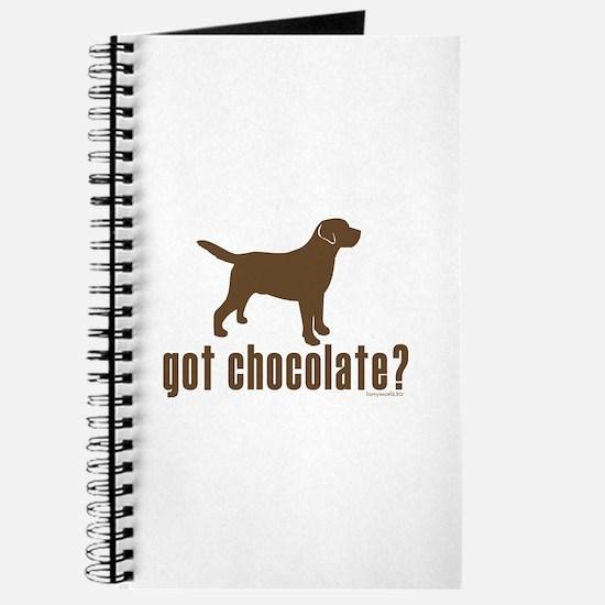 got chocolate lab? Journal