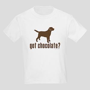 got chocolate lab? Kids Light T-Shirt