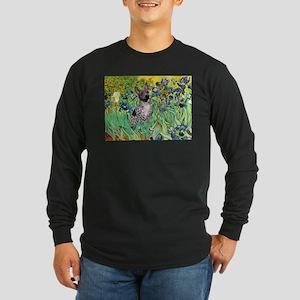 Irises-Am.Hairless T Long Sleeve Dark T-Shirt