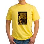 The Artist-AussieShep1 Yellow T-Shirt