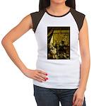 The Artist-AussieShep1 Women's Cap Sleeve T-Shirt