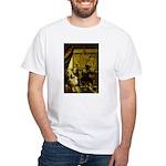 The Artist-AussieShep1 White T-Shirt
