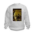 The Artist-AussieShep1 Kids Sweatshirt
