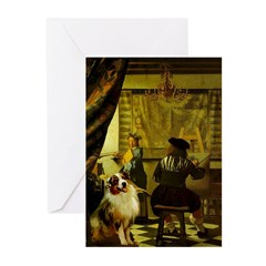 The Artist-AussieShep1 Greeting Cards (Pk of 10)