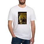 The Artist-AussieShep1 Fitted T-Shirt