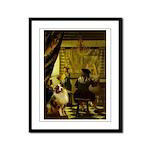 The Artist-AussieShep1 Framed Panel Print
