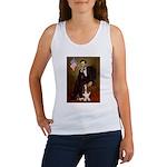 Lincoln / Basset Hound Women's Tank Top