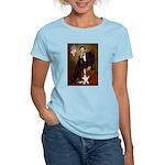 Lincoln / Basset Hound Women's Light T-Shirt
