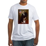 Lincoln / Basset Hound Fitted T-Shirt