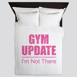 Gym Update - I'm Not There Queen Duvet