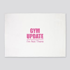 Gym Update - I'm Not There 5'x7'Area Rug
