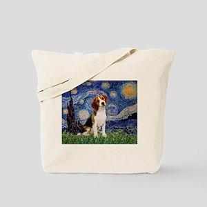 f4faf04b41c5 Starry Night   Beagle Tote Bag