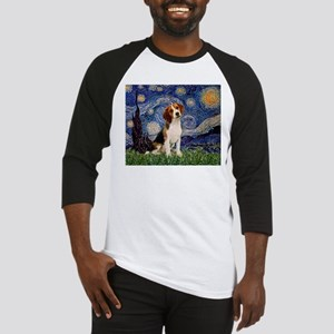 Starry Night / Beagle Baseball Jersey