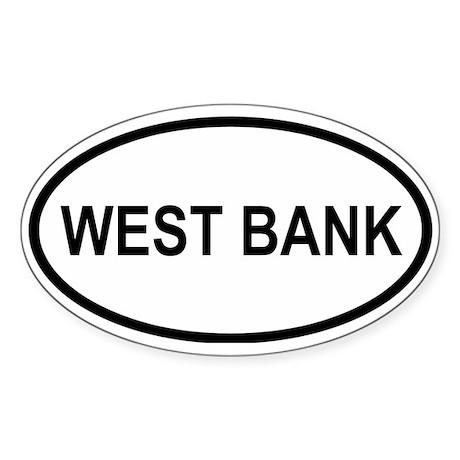West Bank Oval Sticker