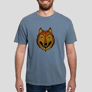 Metallic Brown Wolf T-Shirt