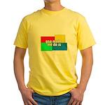 GTA Made Me Do It! Yellow T-Shirt