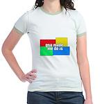 GTA Made Me Do It! Jr. Ringer T-Shirt