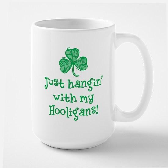 Hangin' with my Hooligans - Large Mug