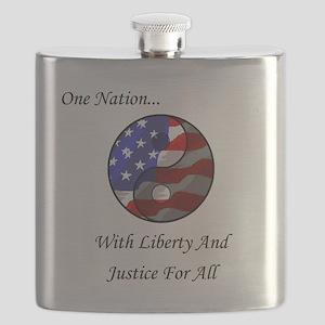One Nation Taoist Flask