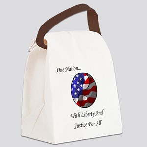 One Nation Taoist Canvas Lunch Bag