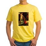 Accolade / Bearded Collie Yellow T-Shirt