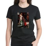 Accolade / Bearded Collie Women's Dark T-Shirt