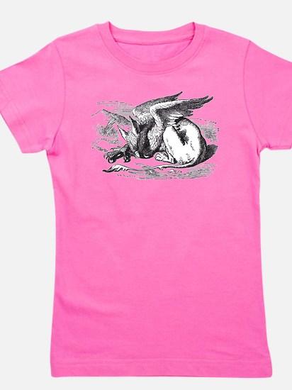 Sleeping Gryphon Ash Grey T-Shirt