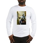 Pitcher / Bearded Collie Long Sleeve T-Shirt