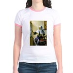 Pitcher / Bearded Collie Jr. Ringer T-Shirt