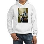 Pitcher / Bearded Collie Hooded Sweatshirt
