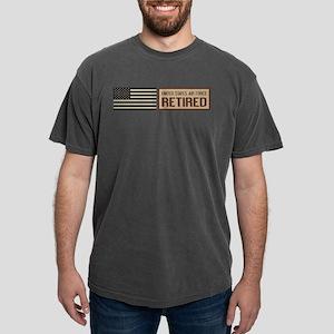 U.S. Air Force: Retired Mens Comfort Colors Shirt