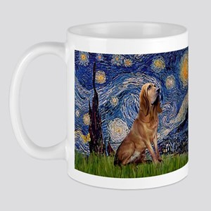 Starry Night Bloodhound Mug