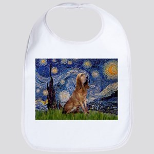 Starry Night Bloodhound Bib