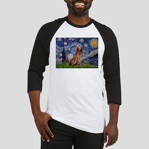 Starry Night Bloodhound Baseball Jersey