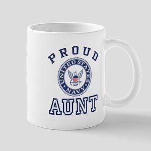 Proud US Navy Aunt Mug