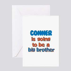 Conner - Going to be Big Brot Greeting Card