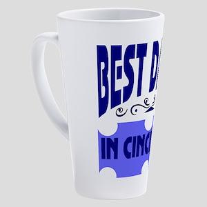 Cincinnati Ohio 17 oz Latte Mug
