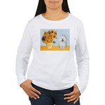 Sunflowers & Bolognese Women's Long Sleeve T-Shirt