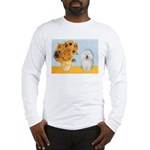 Sunflowers & Bolognese Long Sleeve T-Shirt