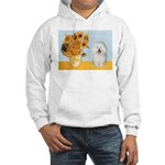Sunflowers & Bolognese Hooded Sweatshirt