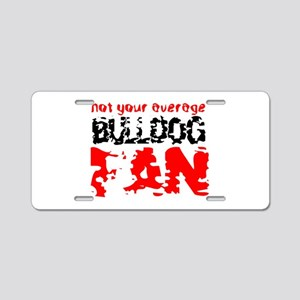 Georgia fan Aluminum License Plate