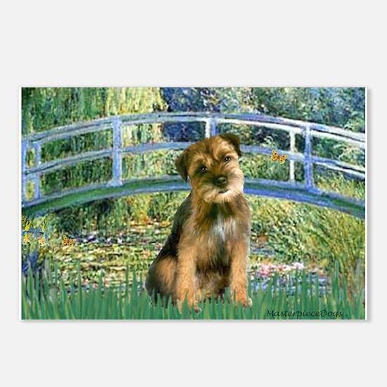 Bridge / Border Terrier Postcards (Package of 8)